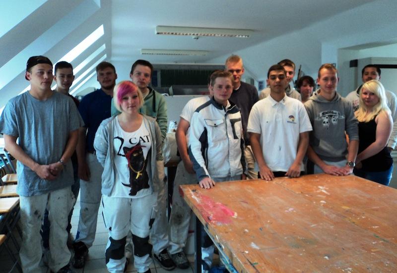 maler und lackierer und malerin und lackiererin berufliche